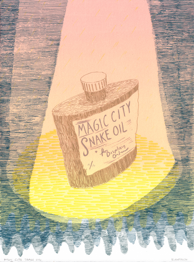 Magic City Snake Oil, K. Hudspeth, 2013