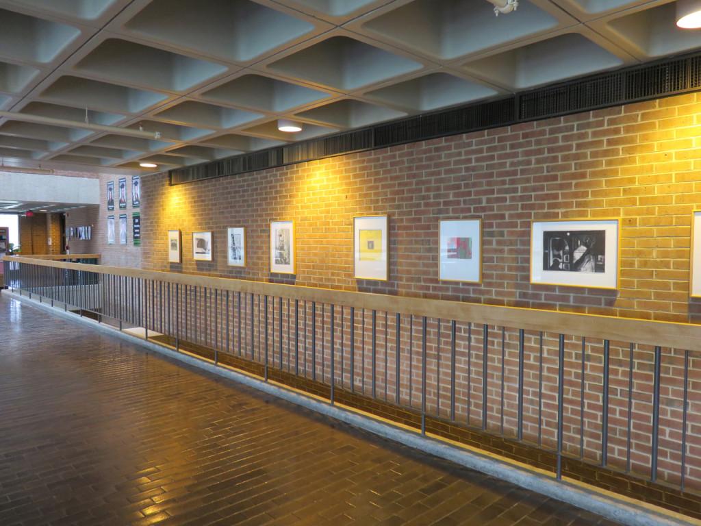 University of Wisconsin at Parkside campus interior, April 2015