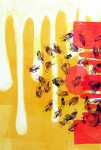 Swarm Mélange, 2008; silkscreen and monotype
