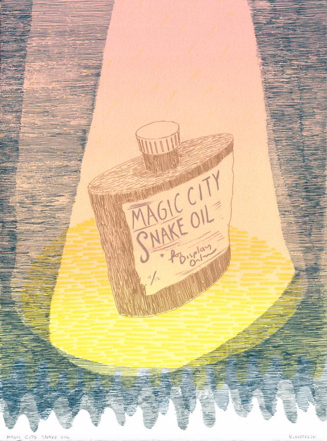 Magic City Snake Oil, K. Hudspeth, 2013