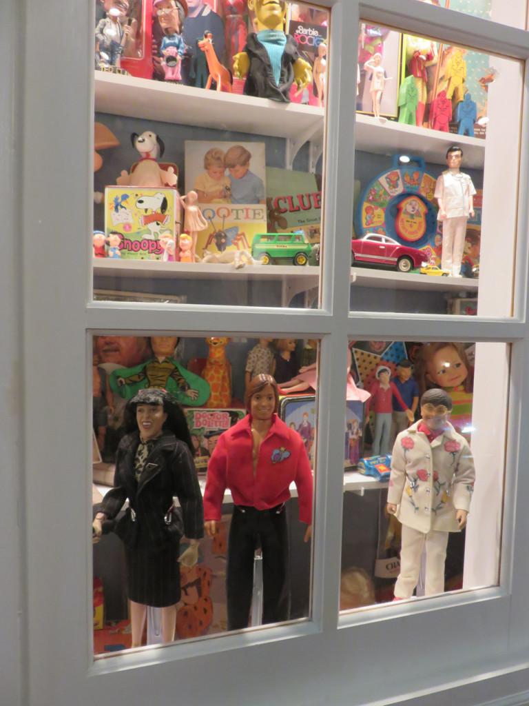 Kenosha History Center dolls and toys